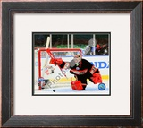 Cristobal Huet 2008-09 NHL Winter Classic Framed Photographic Print