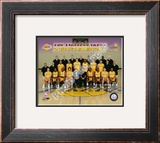 Los Angeles Lakers 2009 NBA Champions Framed Photographic Print