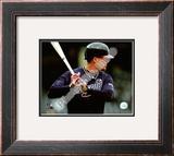 Chipper Jones 2008 Batting Action Framed Photographic Print