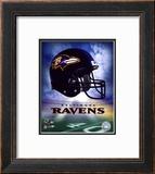 Ravens Helmet Logo ('04) Framed Photographic Print