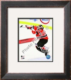 Martin Brodeur Winningest Goaltender in NHL history with 552 wins With Overlay Framed Photographic Print