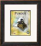 2008 Purdue University Logo Framed Photographic Print