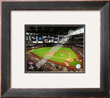 Chase Field - 2009 Opening Day Framed Photographic Print