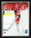 Alex Ovechkin - 2009 Playoffs Framed Photographic Print