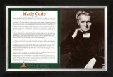Women of Science - Marie Curie Art