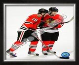 J.Toews / P.Kane - 2009 Playoffs Framed Photographic Print