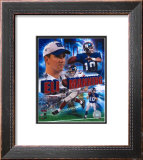 Eli Manning - '05 Portrait Plus Framed Photographic Print