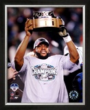 Donovan McNabb - 2004 NFC Championship Trophy Framed Photographic Print