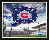 Chicago Fire Framed Photographic Print