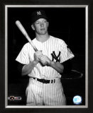 Mickey Mantle-  With Bat - ©Photofile Framed Photographic Print