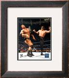 Great Khali vs Battista Framed Photographic Print