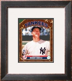 Mickey Mantle Framed Photographic Print
