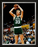 Larry Bird - ©Photofile Framed Photographic Print
