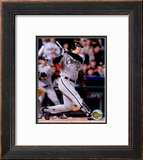 05 World Series Game 3 - Geoff Blum / Game Winning Home Run Framed Photographic Print
