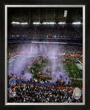 The New York Giants - Super Bowl XLII Framed Photographic Print