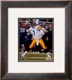 Super Bowl XL - Ben Roethlisberger Framed Photographic Print