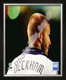 David Beckham 2008 Action; 108 Framed Photographic Print