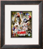 Eli Manning & David Tyree Framed Photographic Print