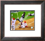 Eric Bruntlett Game 3 of the 2008 MLB World Series Framed Photographic Print