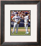 David Wright And Jose Reyes Framed Photographic Print