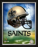 New Orleans Saints Helmet Logo ©Photofile Framed Photographic Print