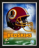Washington Redskins Helmet Logo ©Photofile Framed Photographic Print