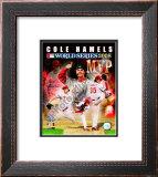 Cole Hamels 2008 World Series MVP Framed Photographic Print