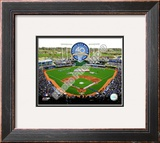 Kauffman Stadium - 2009 With 40th Anniversary Framed Photographic Print