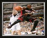 Dwyane Wade 2006 NBA Finals Framed Photographic Print