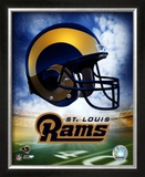 St. Louis Rams Helmet Logo ©Photofile Framed Photographic Print