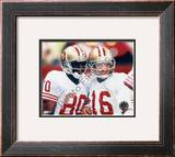 Jerry Rice and Joe Montana Framed Photographic Print