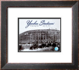 Yankee Stadium - 1923 Opening Day Framed Photographic Print