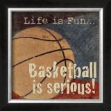 Basketball Posters by Jo Moulton