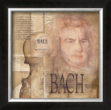 Tribute to Bach Art by Marie Louise Oudkerk