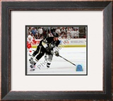 Sidney Crosby Game Three of the 2008-09 NHL Stanley Cup Finals Framed Photographic Print