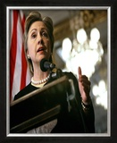 Hillary Clinton Framed Photographic Print