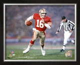 Joe Montana - 21 Framed Photographic Print