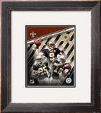 "New Orleans Saints ""Big 3"" Framed Photographic Print"