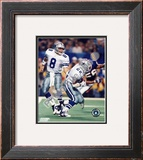 Troy Aikman / Emmitt Smith Framed Photographic Print