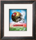 2009 San Francisco 49ers Framed Photographic Print