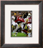 Troy Polamalu - Super Bowl XLIII Framed Photographic Print