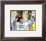 Hines Ward Super Bowl XLIII Framed Photographic Print