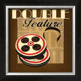 Double Feature Art by Stacy Gamel