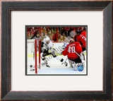 Sidney Crosby 2008-09 Playoffs Framed Photographic Print