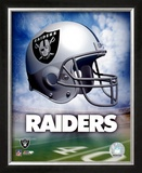 Oakland Raiders Helmet Logo &#169;Photofile Framed Photographic Print