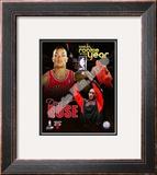 Derrick Rose - '08 / '09 ROY Composite Framed Photographic Print