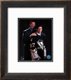 2005 - Sidney Crosby / Mario Lemieux Draft Day Framed Photographic Print