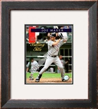 Joe Mauer 2008 American League Batting Title Framed Photographic Print