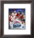 2008-09 NHL Winter Classic Match Up Framed Photographic Print