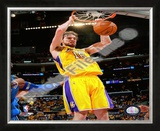 Pau Gasol Game One of the 2009 NBA Finals Framed Photographic Print